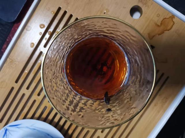 昔归熟普洱茶 冬季最美的慰藉 #小茶控品鉴包